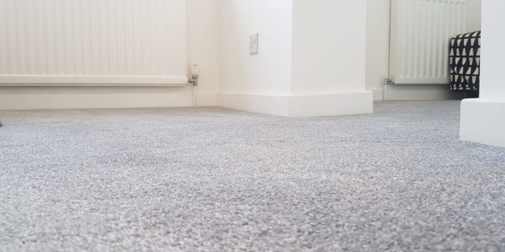 Salamanca Platinum Soft Touch Twist Pile Carpet Fitted In Hitchin Herts Carpets